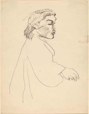 Half-Length Study of a Woman Turned to the Right