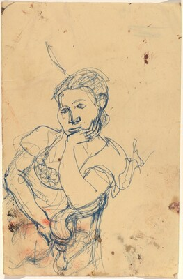 Seated Woman, Leaning to the Right
