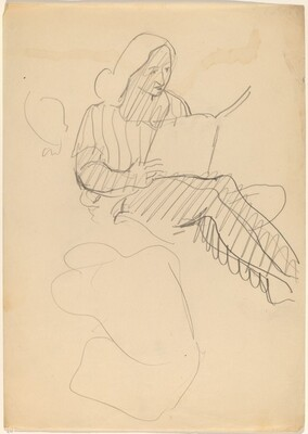 Seated Woman Reading