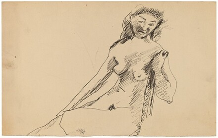 Nude Woman Seated in a Chair