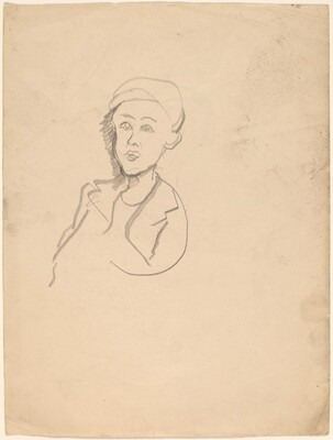 Portrait of a Man in a Cap and Jacket [recto]