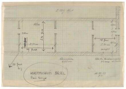 Kunstmuseum Basel Architectural Plan