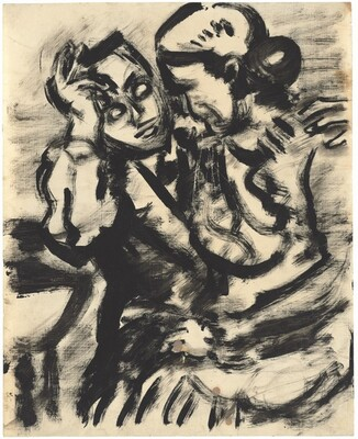 Untitled (Seated Couple)