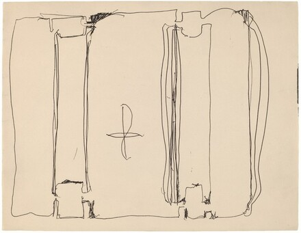 Untitled (Sketch for Harvard Mural)