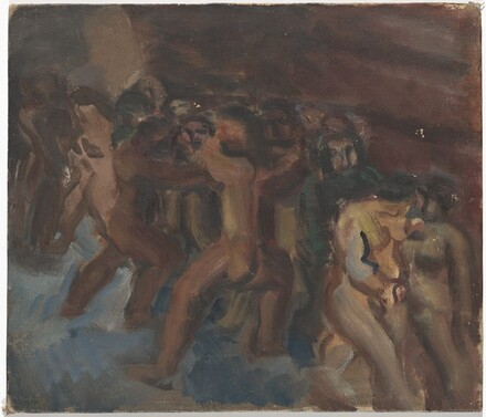 Untitled (scene with nude figures)