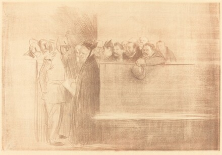 The Hearing (third plate)
