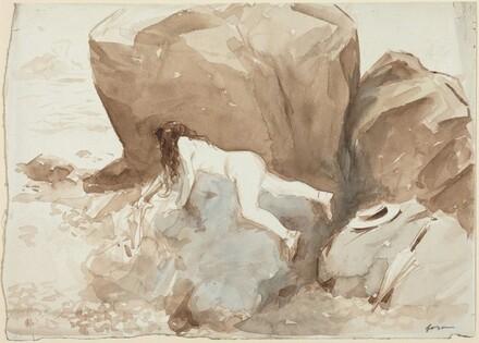 Nude on Rocks