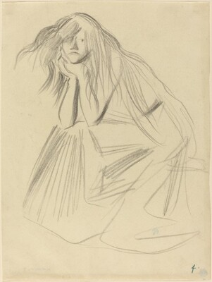 Seated Woman, Chin on Hands