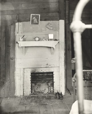 Fireplace, Burrough's Bedroom, Hale County, Alabama