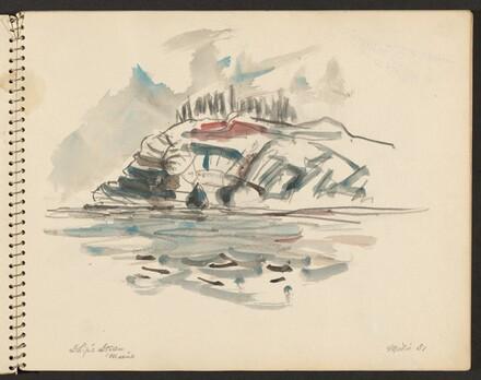 Ship's Stern Island, Maine