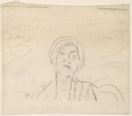 Study for Untitled (Mrs. Marin) [upper half]