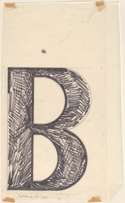 Sketch for Building - Blocks for a Doorway (B)