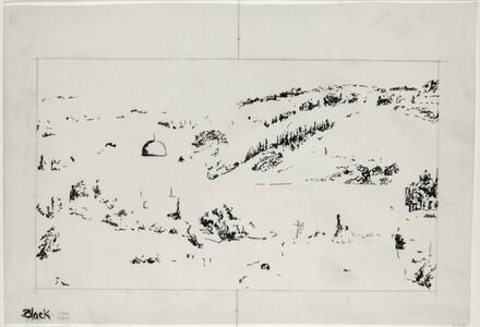 Drawing for Jerusalem, Temple Mount