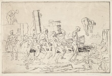 Bathers in the Hudson