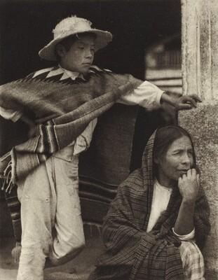 Woman and Boy, Tenancingo