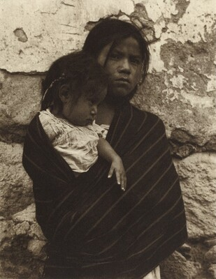 Girl and Child, Toluca