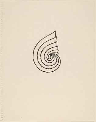 Rendering for the Twelfth of Thirteen Spiral Drawings