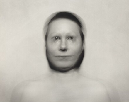 Self-Portrait: Pivotal motion from forehead, small