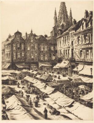 Marketplace, Bruges