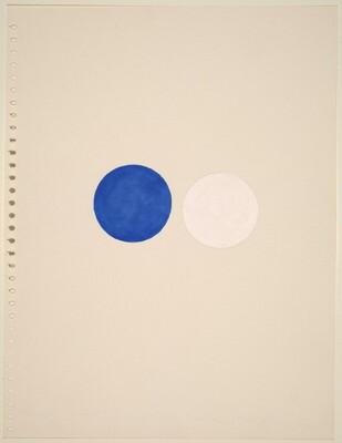 I Blue and White (Dallas)