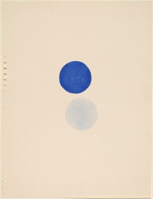 II Blue and Pale Blue (Dallas)