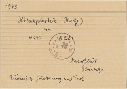 Documentation for the artist's work 1949-1967