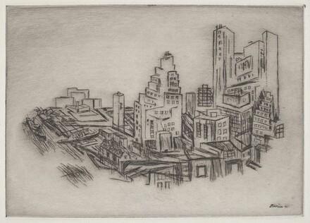 Lower Manhattan from the Bridge