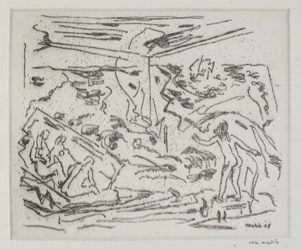 Sea with Figures, No. 1