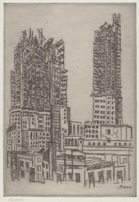 Skyscrapers in Construction, No. 1