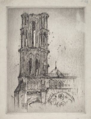 Cathedral Tower, Laon