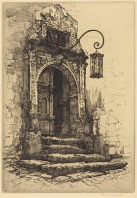 Courthouse Portal, Rothenburgh