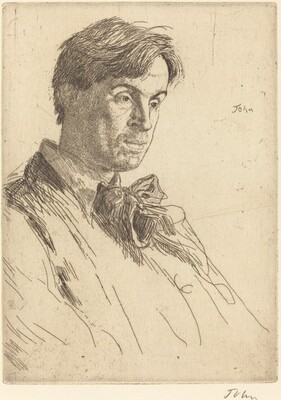 William Butler Yeats: fourth plate