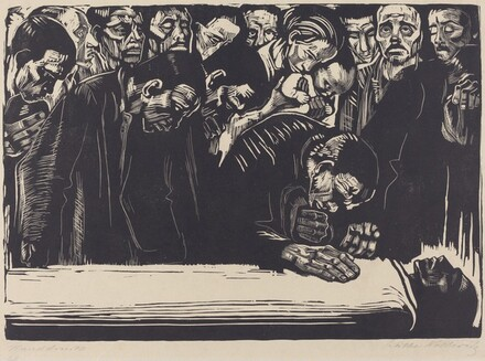 Memorial to Karl Liebknecht (Gedenkblatt fur Karl Liebknecht)