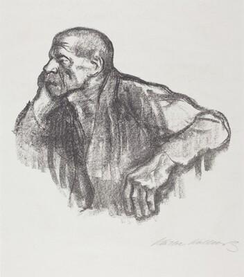 Sitting Worker (Sitzender Arbeiter)