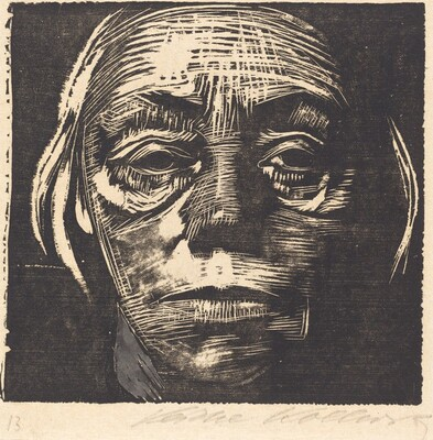 Self-Portrait from the Front