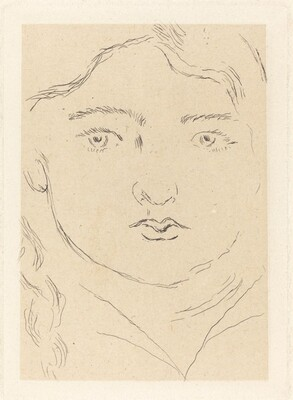 Head of a Child - Apollon (Tête d'enfant - Apollon)