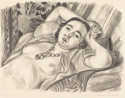 Odalisque with Necklace (Odalisque au collier)