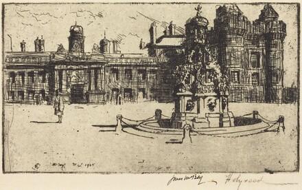 The Fountain, Holyrood