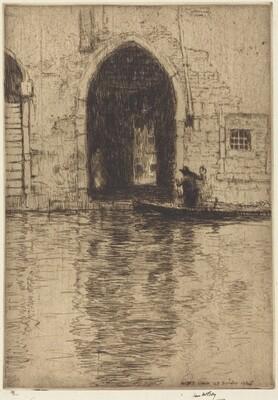 Sotto Portico, Venice