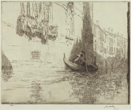 The Passing Gondola