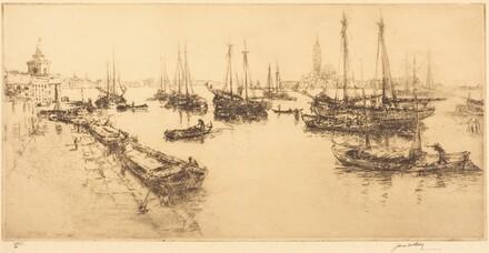 Shipping in the Giudecca Canal