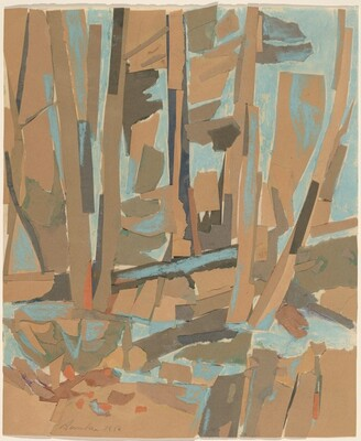 Study for Spruce Clearing