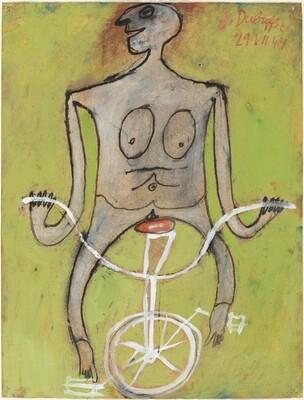 Cycliste Nue (Nude Cyclist)