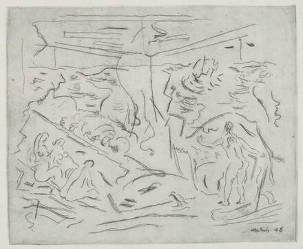 Sea with Figures, No. 2