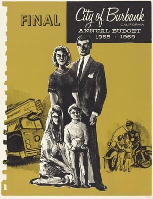 Final: City of Burbank, California, Annual Budget 1968-1969