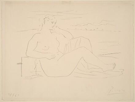 Woman at the Seashore (Femme au bord de la mer)