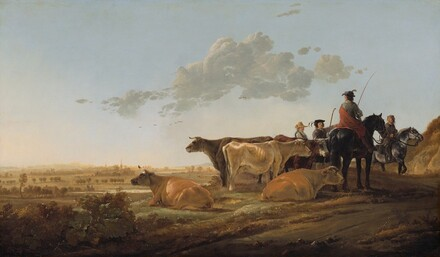Landscape with Herdsmen