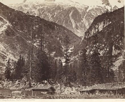 Chalet de Handeck, Hasli Valley, Canton Bern, Switzerland