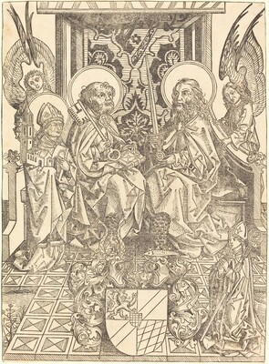 Saints Peter and Paul under a Canopy