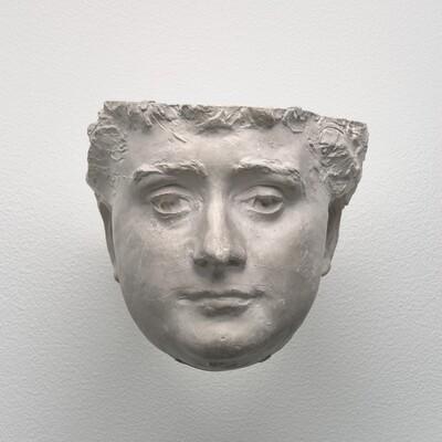 Mask of Katherine Seney Simpson (Mrs. John W. Simpson)